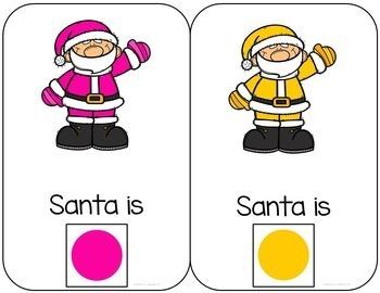 Santa Interactive Color and Counting Book