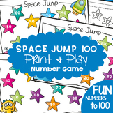 Counting by 10s Game - Space Jump