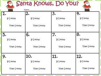 Santa Knows, Do You? (Commutative Property)