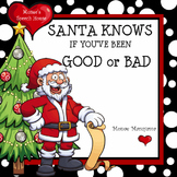 Santa Claus Early Reader Early Childhood Speech Therapy