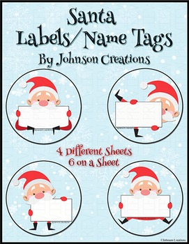 Santa Labels / Name Tags