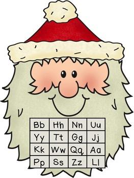 Santa Letter Bingo