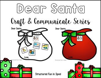 Santa Letter Craft & Communicate Series