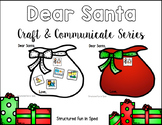 Letter to Santa Craft for Preschool, Pre-K and Special Needs
