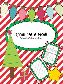 Santa letter french by madame gilbert teachers pay teachers santa letter french spiritdancerdesigns Images