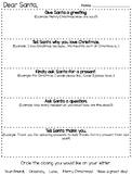 Santa Letter Outline Rough Draft
