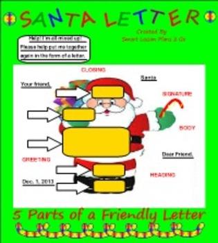 Santa Letter PDF's