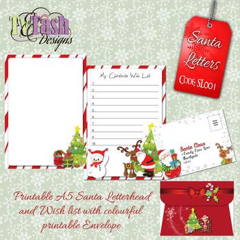 Santa Letter SL001