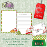 Santa Letter SL001 Blank Letterhead