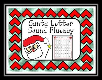 Santa Letter Sound Fluency