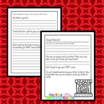 Santa Letter Template