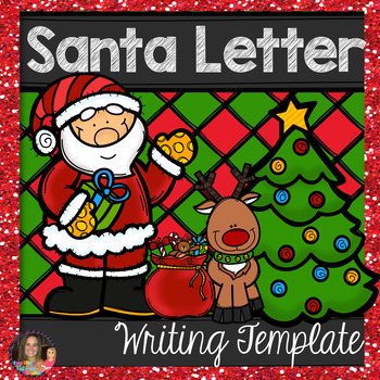 Santa letter template by itsy bitsy first grade teacher tpt santa letter template spiritdancerdesigns Images