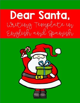 Santa Letter Template in English and Spanish