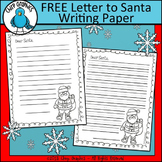 FREE Letter to Santa Writing Paper - Chirp Graphics
