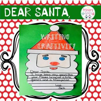 Santa Letter Writing Craftivity