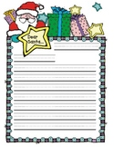 Santa Letter Writing: Handwriting Practice