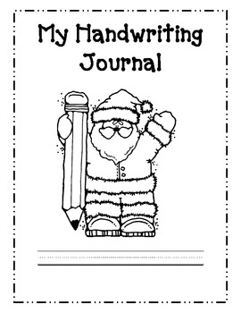 Santa Letter Writing: Handwriting Practice