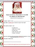 Santa Letter from Teacher