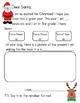 Santa Letter (preschool-kindergarten-first grade)