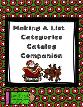 Santa List Paper- Toy Catalog Companion
