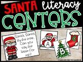Santa Literacy Center - Alphabet & Letter Sounds Center