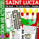 Santa Lucia Activities Bundle (crown, flip book and puzzles)