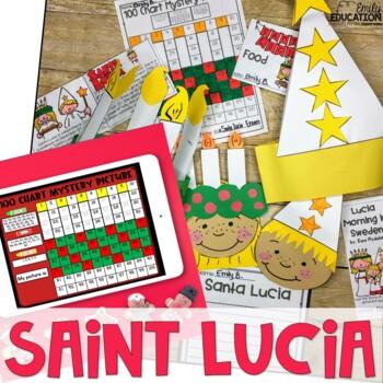 Santa Lucia/ Saint Lucia Activity Pack {Holidays Around the World}
