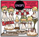 Santa Lucia Clip Art Bundle {Educlips Clipart}