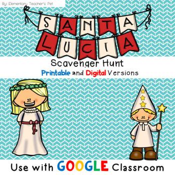Santa Lucia Scavenger Hunt