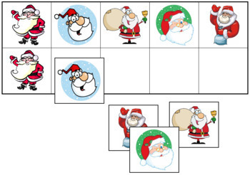 Santa Match-Up and Memory