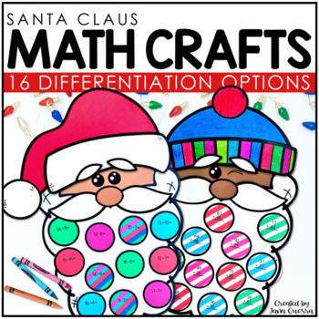 Santa Math Crafts *NEW* | Christmas Math Activities
