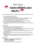 Santa Math Project