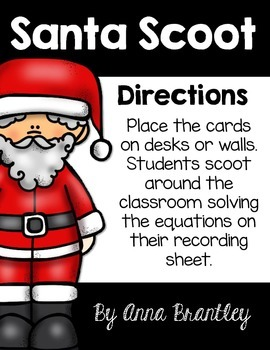 Santa Math Scoot