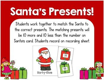 Santa Math for Primary Grades!