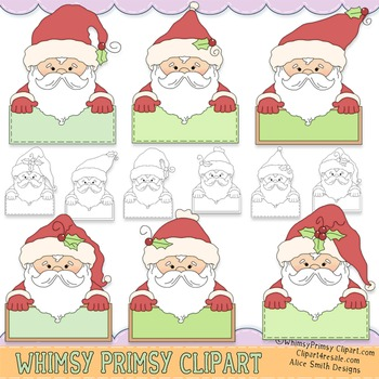 Santa Messages (Blank)