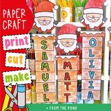 Santa Name / Word Craft for Christmas