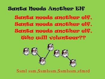 Santa Needs Another Elf Singing Game