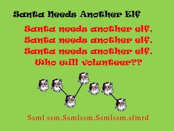 Santa Needs Another Elf Singing Game