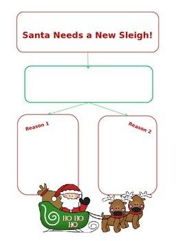 Santa Needs a New Sleigh