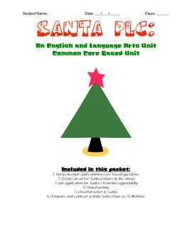 Santa PLC: English and Language Arts Activity Packet