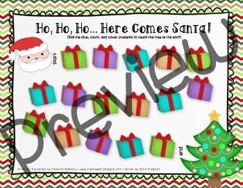 Santa Board Game