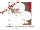 Santa Portrait ~ based on Andy Warhol's Santa~ PowerPoint Lesson