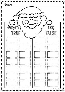 Santa Fun Pack -  Reading and Writing Packet of Activities