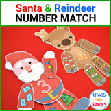 Santa & Reindeer Christmas Number Match