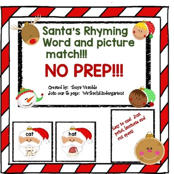 Santa Rhyming