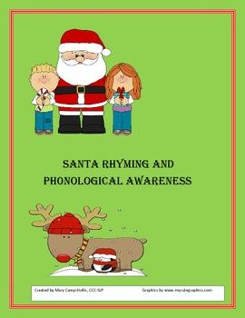 Santa Rhyming and Phonological Awareness