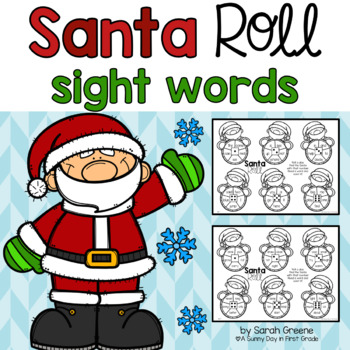 Santa Roll: Sight Words!