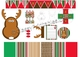 Santa Rudolph Christmas Classroom Decor - Teacher's Mini Kit