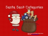 Christmas Category Sort Language Game Speech Therapy