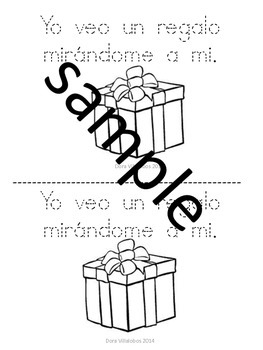 Santa, Santa Spanish small book